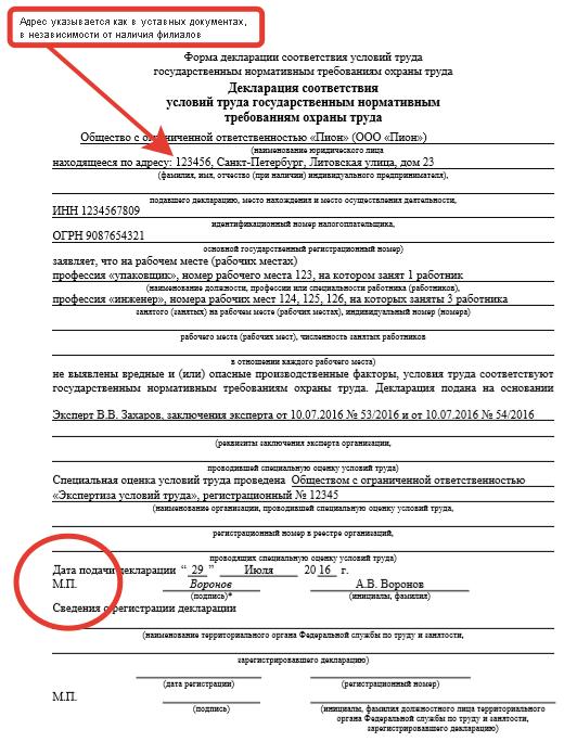 Образец Заполнения Уточненной Декларации По Соут - фото 2